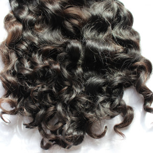 Raw wavy/curly